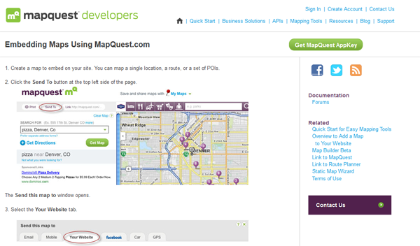 10 Mapping Tools For Local Websites New Media Knowledge